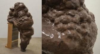 "Hold Still (details), 2013, Glazed Earthenware, 50""x45""x 23"""