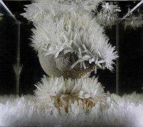 """Zach Valent, """"Crystal Tech"""" (photo capture of process)"""