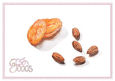 Dried Apricot & Almonds