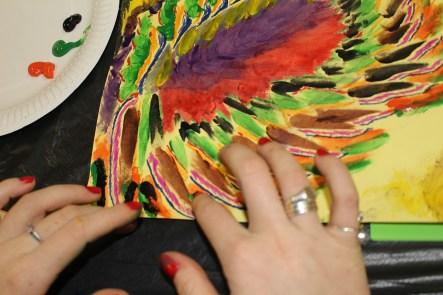 Kate Janse van Rensburg uses colour to striking effect. IMAGE: Chelsea Haith