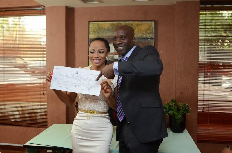 toke makinwa registry wedding