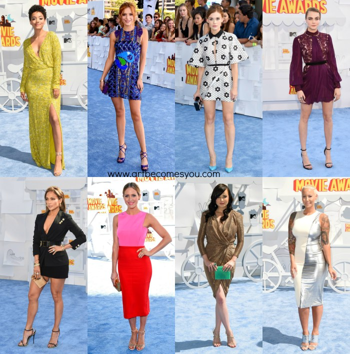RED CARPET REVIEW THE 2015 MTV MOVIE AWARDS