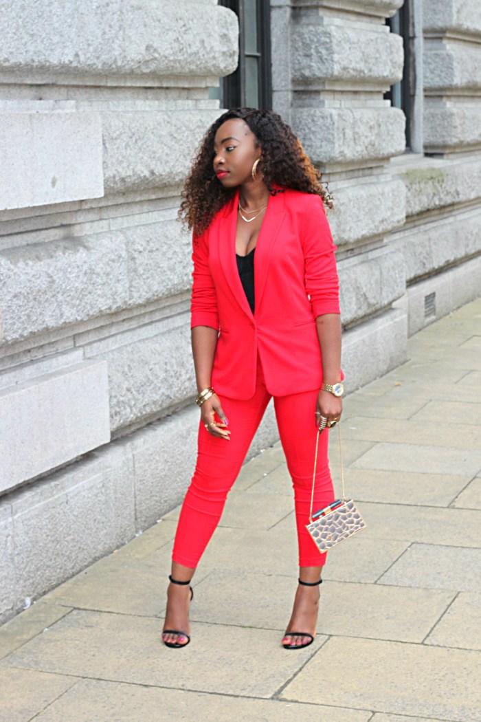redd solange inspired suit