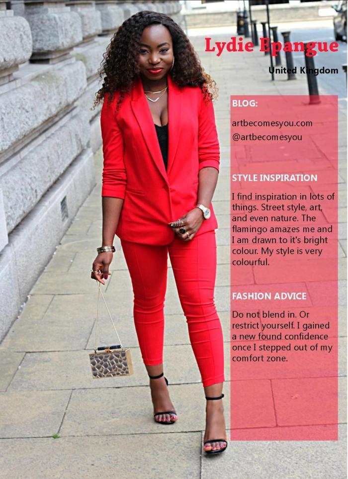 Fashion  Issue 2015 Final - Lydie Epangue