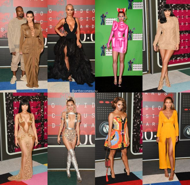mtv vmas 2015 red carpet awards fashion review