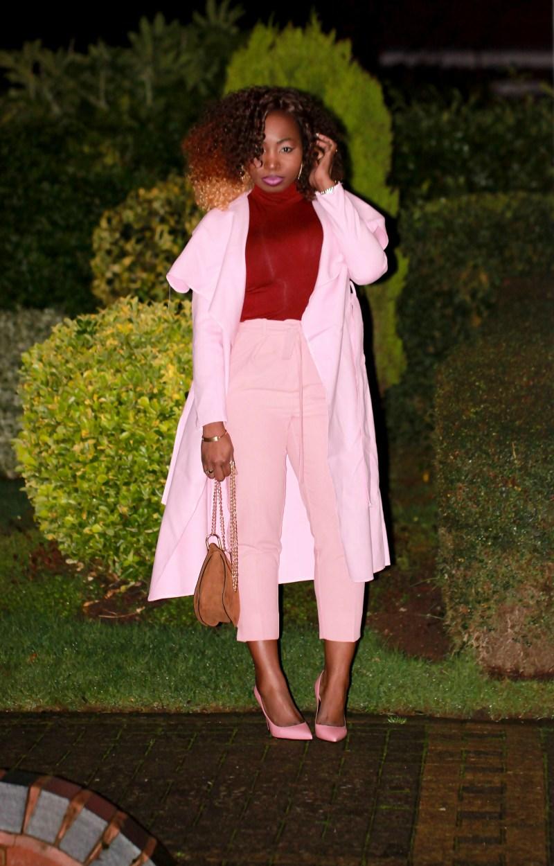 dusty pink coat 1a