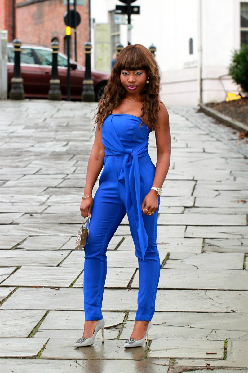 electric blue jumpsuit a