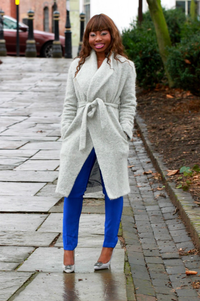 electric blue very jumpsuit a