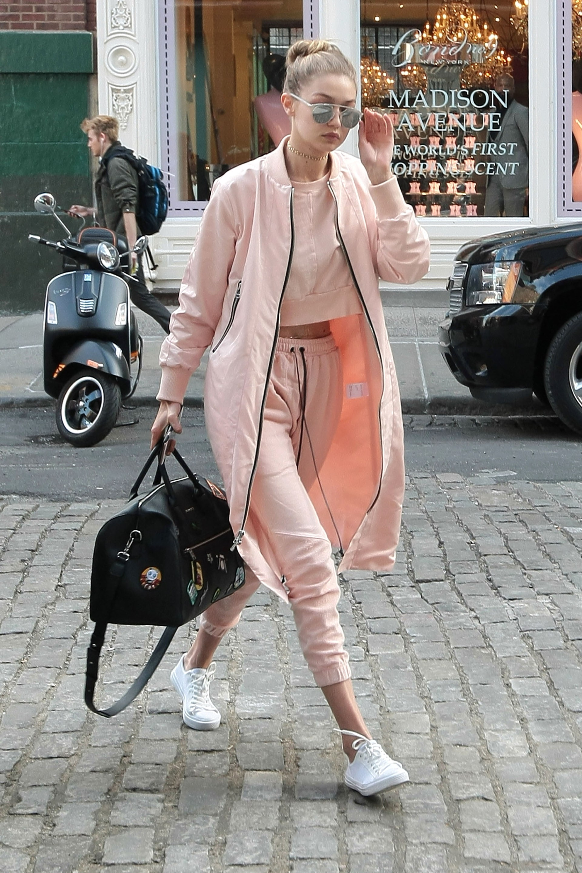 Gigi Hadid and Yolanda Foster Out in NYC