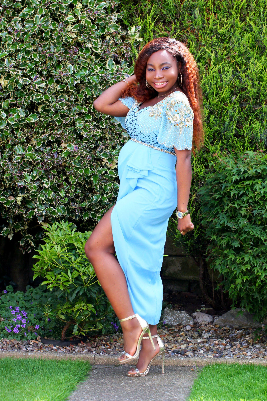 laila embellished occasion dress a
