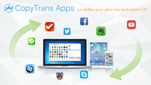 CopyTrans Apps : Gérer vos Applications iOS facilement depuis un PC 1