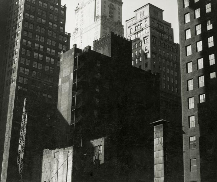 Walker Evans. 'Excavation for Lincoln Building, East 42nd Street and Park Avenue' 1929