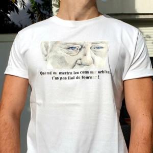 Tee shirt face film le pacha