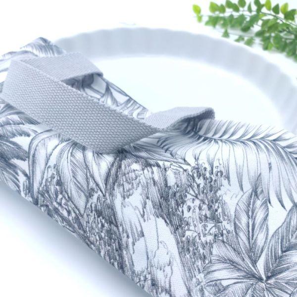 tissu en coton de qualité motif tropical
