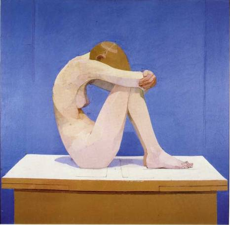 """Euan Uglow, """"Summer Picture"""" (1971-2), oil on canvas"""