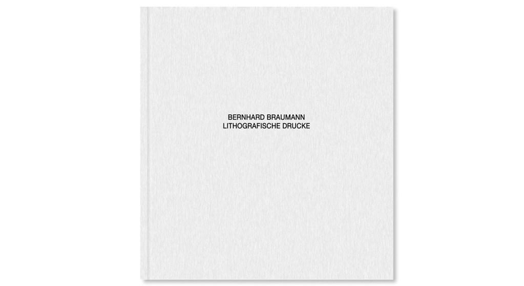 Bernhard Braumann. Lithografische Drucke