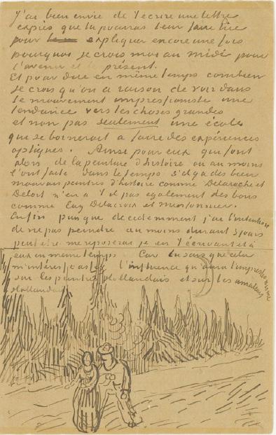 Van Gogh Letter 709