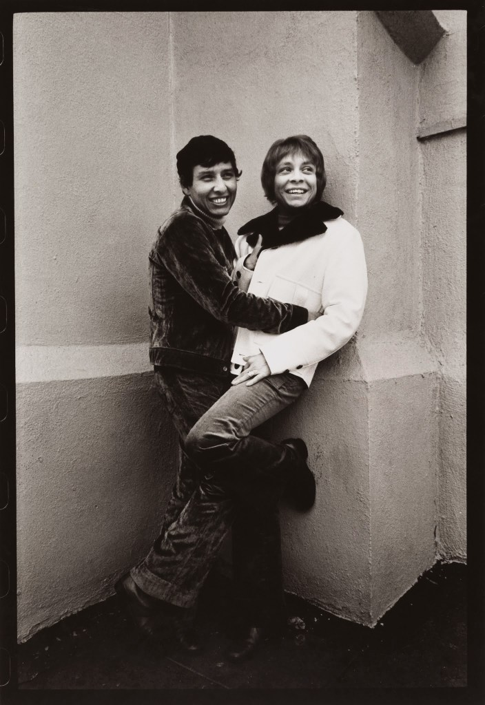 Anthony Friedkin Couple in Front of Church, Los Angeles, 1970 Gelatin silver print 14 × 11 in. (35.6 × 27.9 cm) Fine Arts Museums of San Francisco Anonymous gift
