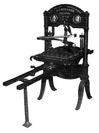 Washington hand press