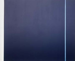 Newman, Barnett: Midnight Blue, Museum Ludwig, ML Dep. 7356