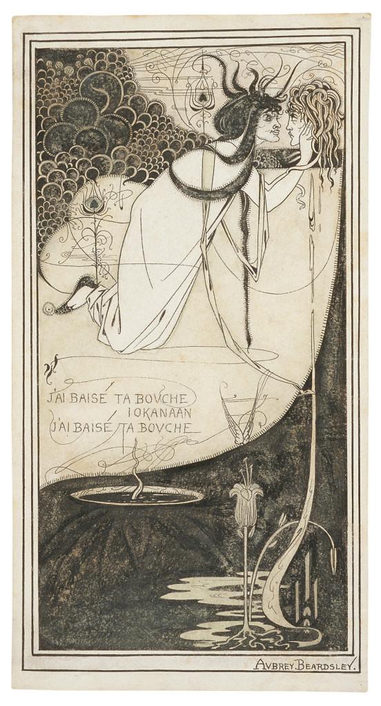 J'ai Baisé Ta Bouche, Iokanaan. Princeton University Library, Princeton University, Princeton, NJ, Aubrey Beardsley Collection (RS271)