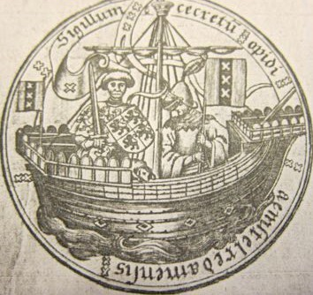 Amsterdam City Seal, 15th c.