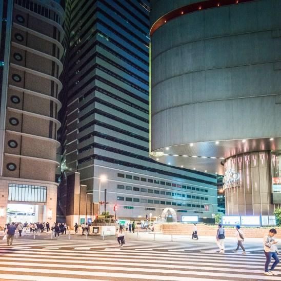 Osaka main station area