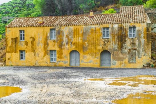 Worker barracks, Montecchio mine