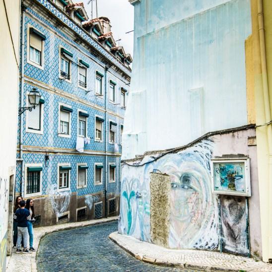 Alfama quarter, Lisbon
