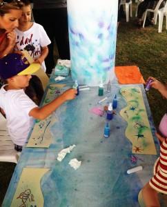 "Australia Day Art Box workshops ""Under the sea"""