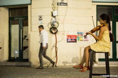 in Bucarest streets