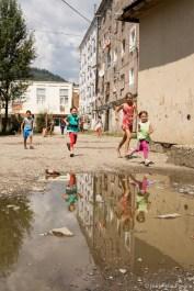 Gipsy community in Baia Mare