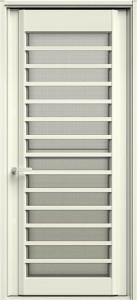 玄関ドアJ型白