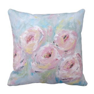 Peony Bloom Pillow