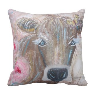 BeYoutiful Bovine Pillow