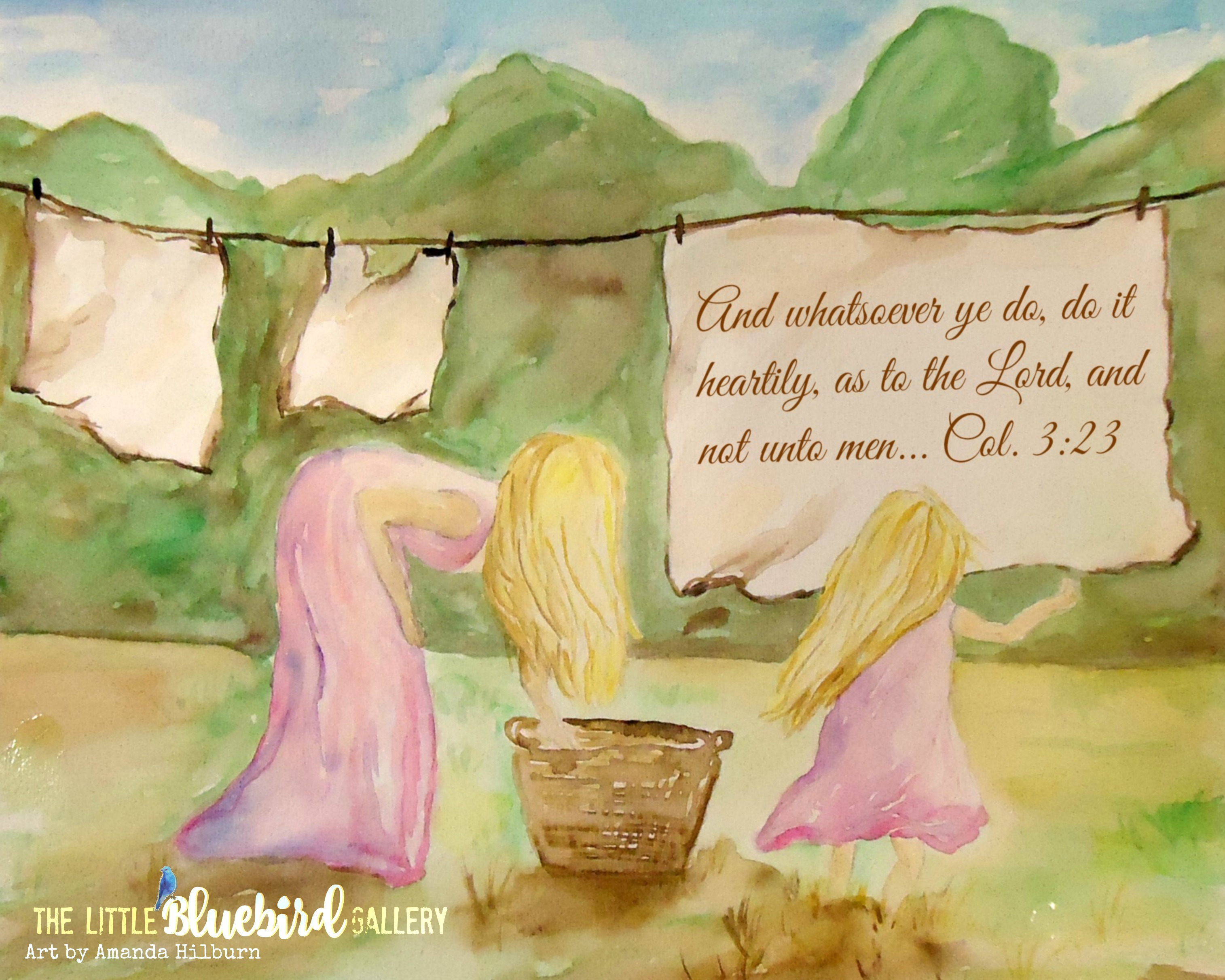 Work for the Lord print Watermarked