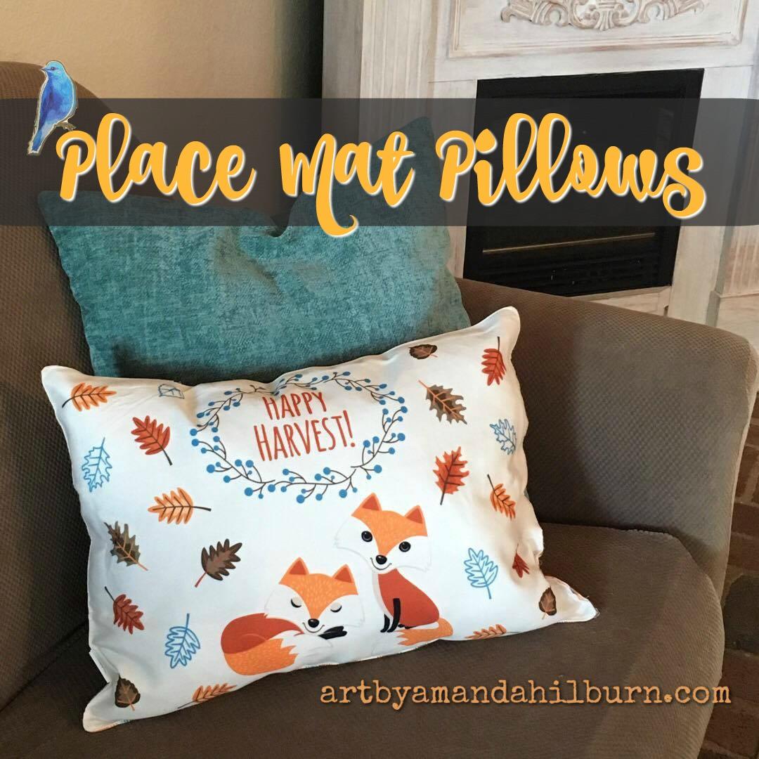Place Mat Pillows
