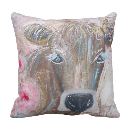BeYoutiful Bovine Pillow