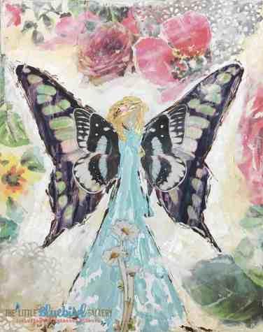 Blue Garden Fairy