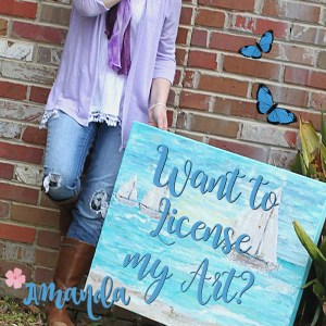 The Little Bluebird Gallery Licensing featuring Art by Amanda Hilburn