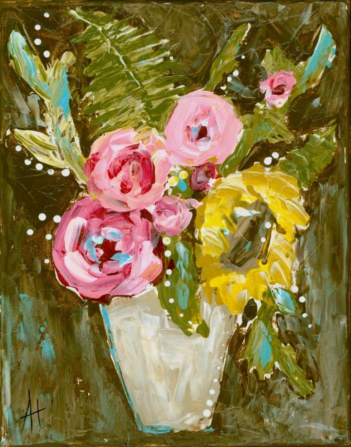 Warm Summer Floral Print