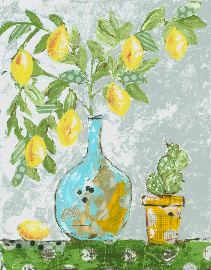 Happy Lemon Tree Print