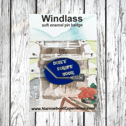don't forget your windlass