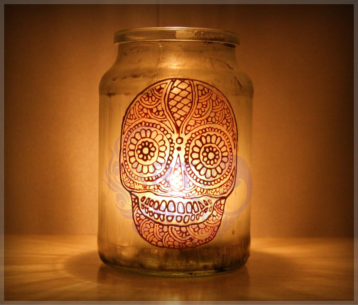 Halloween Candy Skull