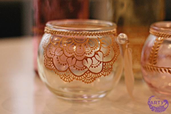 Henna jar