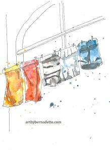 Positano laundry