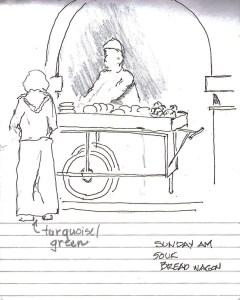 Bread wagon