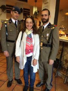 Soldiers in Madrid