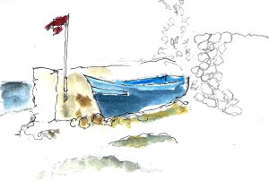 Moulay Bouzerktoun boat
