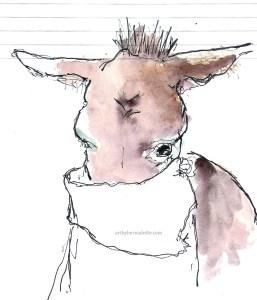 "My ""neigh""bor donkey"